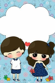 Images Wallpaper, Love Wallpaper, Cute Wallpapers, Chibi Couple, Cute Couple Cartoon, Romantic Love Couple, Tumblr Cartoon, Cute Bear Drawings, Samantha Photos