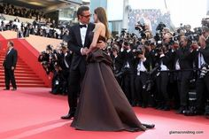 Angelina Jolie & Brad Pitt on the red carpet in Cannes