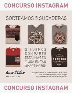 Concurso Kaotiko en instagram