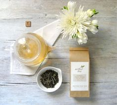 Organic White Peony Tea  1.5 oz. Kraft Bag  Pai Mu by ArtfulTea