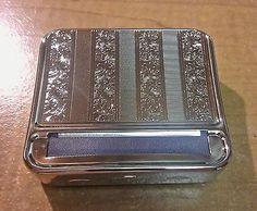 Kingstar Silver Stripped Metal King Size Cigarette Roller Machine