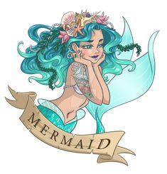 """mermanryansfinds: """" Mermaid by teatime123 """""""