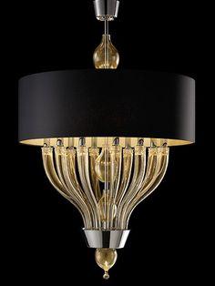 Pandora, murano chandelier by Barovier & Toso