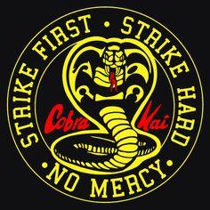 Fifty Shades of Men: Cobra Kai - De terugkeer van The Karate Kid (Revie. Cobra Kai Wallpaper, Cobra Kai Dojo, Cobra Kai T Shirt, Karate Kid Cobra Kai, Karate Dojo, Hard No, Foto Top, Cinema Tv, Miyagi