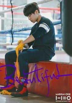 Wanna One Mini Album Repackage (Nothing Without You)' - 'Beautiful' MV poster Jinyoung, Park Bo Gum, Nothing Without You, E Dawn, Beautiful Posters, Kim Woo Bin, Kim Jaehwan, Ha Sungwoon, My Destiny