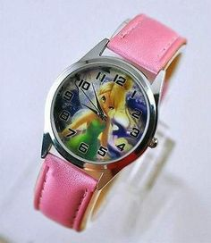 New Tinkerbell Ladies Women Child Girl Boy Watch Wrist Xmas 73