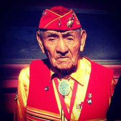 """Jiovanni Allens tribute to George B. Willie Sr. one of the Navajo Code Talkers who saved the US Marines at Iwo Jima and throughout World War II. Thank you for the kind permission to repost. We say farewell & Rest Easy to a wonderful man who served his country in a time when it needed him even though he didn't know it at the time. George B. Willie Sr. volunteered to protect Ne-he-mah which in #Navajo translates literally to """"our mother"""" & was the term designated for 'America' in #NavajoCode…"""