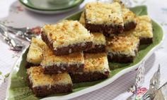 Ryttarkaka i långpanna recept   Allas Recept Swedish Cookies, Grandma Cookies, Cookie Box, Cafe Food, Fika, Food Cakes, Cake Recipes, Muffin, Goodies