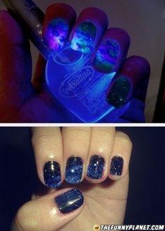 Awesome nail polish. Brazilian nail polish.