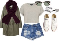 """inspired outfit for a picnic by the camp fire"" by hayleycarbran ❤ liked on Polyvore"