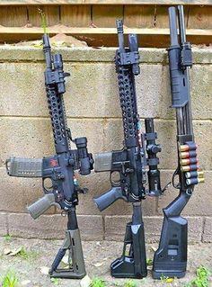 AR-15 & Shotgun