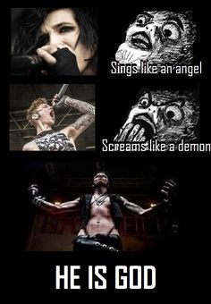 andy biersack is god!