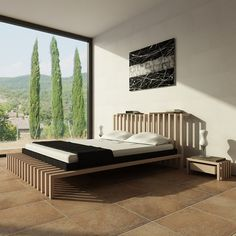 Pacio bed by Novo Design italia