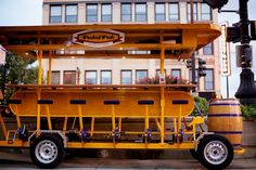 I want to have a night out on the pedal pub!