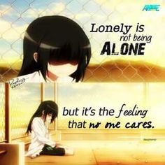Lonely..