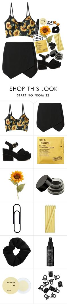 """""""your my sunshine"""" by dai-co ❤ liked on Polyvore featuring ASOS, Comodynes, Crate and Barrel, Topshop, Kat Von D, Korres and H&M"""
