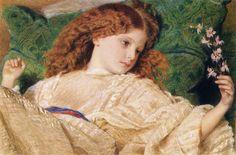 Frederic Burton ~ Dreams 1861  http://www.artrenewal.org/artwork/024/2024/41146/Burton_Sir_Frederick_Dreams_1861-large.jpg