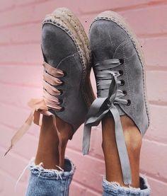 Spanish label Manebi's espadrilles sneakers Sock Shoes, Cute Shoes, Me Too Shoes, Shoe Boots, Shoe Bag, Flat Shoes, Fashion Moda, Fashion Shoes, Women's Fashion