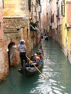 Experience a Gondola ride in the canals of Venice, Italy. Places Around The World, Oh The Places You'll Go, Places To Travel, Around The Worlds, Wonderful Places, Great Places, Beautiful Places, Dream Vacations, Italy Travel