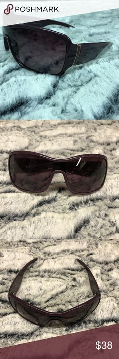 Marc by Marc Jacobs Purple Sunglasses Great used condition.  Marc on the side is a little faded. Marc by Marc Jacobs Accessories Sunglasses
