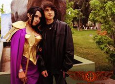 Reyna and Nico Di Angelo cosplay. Reyna isn't how I imagined but that's ok. However, Nico looks pretty darn close. Woah cut me off a piece of that action ; Percy Jackson Cosplay, Apollo Percy Jackson, Percy Jackson Ships, Percy Jackson Fandom, Magnus Chase, Hades Children, Sadie Kane, Trials Of Apollo, Rick Riordan Books