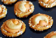 Pumpkin Spice Pretzels (uses Pumpkin Spice Hershey Kisses)