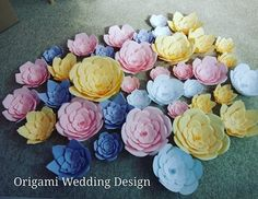 Origami Wedding, Wedding Designs, Rose, Flowers, Plants, Pink, Florals, Roses, Planters