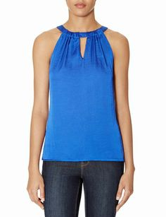 Tie-Back Halter Top from THELIMITED.com #ItsTime #TheLimited