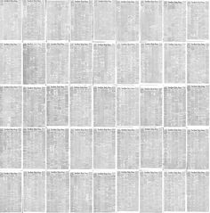 The Rise of the Image: Every NY Times Front Page Since 1852 in Under a Minute | Colossal