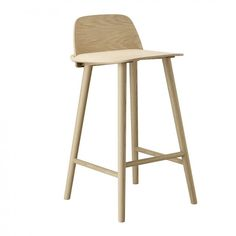 The Nerd Bar Stool is a modern Nordic take on the iconic all-wood chair that reflects its classic Scandinavian design heritage. Plastic glide and felt glide included. Option of pre-mounted felt glides upon request for orders above 50 chairs. Bar Furniture, Recycled Furniture, Plywood Furniture, Furniture Layout, Counter Stools, Bar Stools, Bar Chairs, Room Chairs, Rattan Chairs