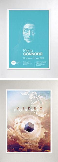Graphic Design & Art Direction by Fred Dauzat | Inspiration Grid | Design Inspiration