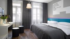 Prague metropolis was variegated with a brand new design boutique hotel called Moods, last year. In last weeks, hotel design was awarded in Top Design Boutique, A Boutique, Beautiful Interior Design, Classic Interior, Design Hotel, House Design, Design Design, Design Ideas, Modern Wall Decor
