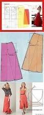 Resultado de imagen para faldas moldes gratis