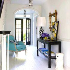ιδεες διακοσμησης εισοδος σπιτιου