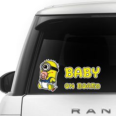 [ Minion ] BABY ON BOARD SERIES FOR CAR