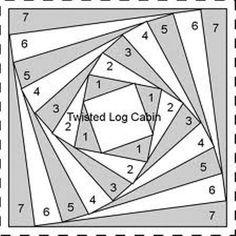 Какие бывают схемы и рисунки в технике пэчворк?