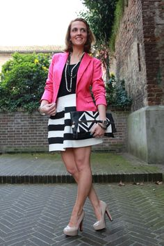 Striped Skater Skirt (Fashion Tip #24) – The Indian Savage diary