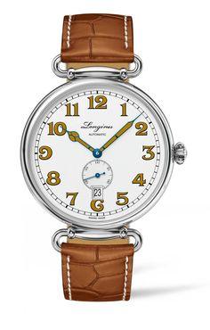 TimeZone : Industry News » Basel 2016 - Longines Heritage 1918