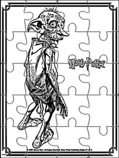 Printable jigsaw puzzles to cut out for kids Harry Potter 6 Coloring Pages Harry Potter Activities, Harry Potter Printables, Cumpleaños Harry Potter, Harry Potter Birthday, Imprimibles Harry Potter Gratis, Hardy Potter, Theme Animation, Harry Potter Bricolage, Ancient Runes