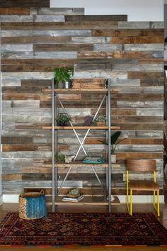 Barn Harvest Wood Custom Shelving Loft by UrbanWoodGoods on Etsy
