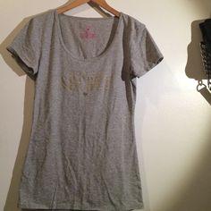 VS top VS top size medium Victoria's Secret Tops Tees - Short Sleeve