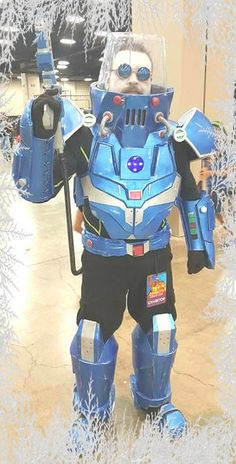Picture of How to build a Batman: Mr. Freeze Costume - 2.0 version