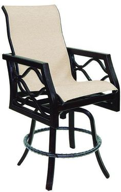 High Back Sling Counter Stool At Michael Alan Furniture