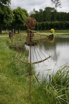 réalisations @ Marie-Jo MARAQUIN, artisan vannier – Loiret FRANCE: