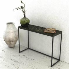marble dressoire by MarMORE Marble Mosaic, Entryway Tables, Minimalism, Furniture Design, Cleaning, Elegant, Simple, Home Decor, Products