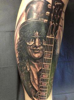 Slash ~ Guns N' Roses tattoo
