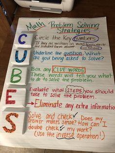 Math Strategies, Math Resources, Math Activities, Math Skills, Math Lessons, Fifth Grade Math, Grade 3, Teaching Math, Guided Maths