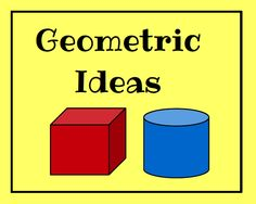 Ideas for teaching geometry plus FREE math printable