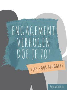 Waarom engagement verhogen met je lezers zo belangrijk is? Omdat bezoekers niet vanzelf komen aanwaaien. Zorg er zelf voor dat ze keer op keer terugkomen. Online Marketing, Social Media Marketing, Digital Marketing, Blog Tips, Note To Self, Social Media Tips, How To Start A Blog, Stress, Business