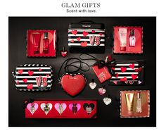 Glam Gifts. Scent with love.